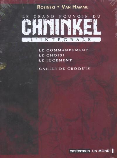 Couverture le grand pouvoir du chninkel ; coffret