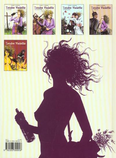 Dos Tendre violette tome 5 - lucye