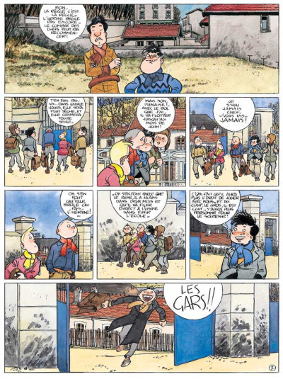 Page 3 Les années spoutnik tome 4