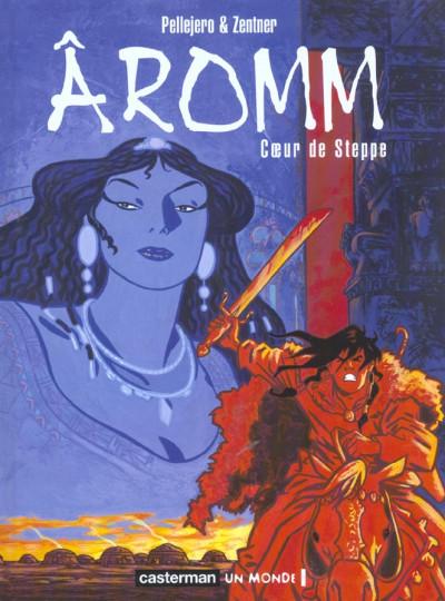 Couverture Aromm tome 2 - coeur de steppe