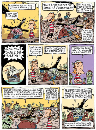 Page 1 Martin l'apprenti pirate tome 1 - objectif bigorneau