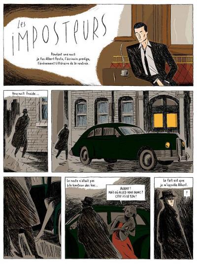 Page 3 les imposteurs ; actes 1