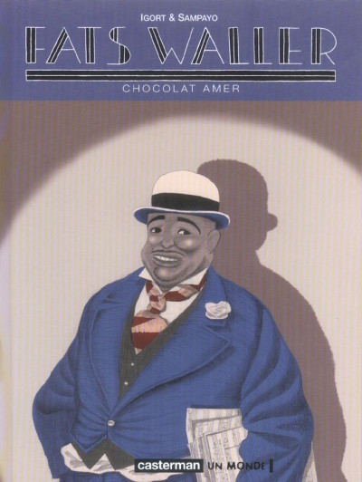 Couverture Fats waller tome 2 - chocolat amer
