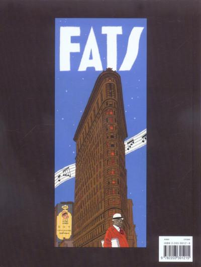 Dos Fats waller tome 2 - chocolat amer