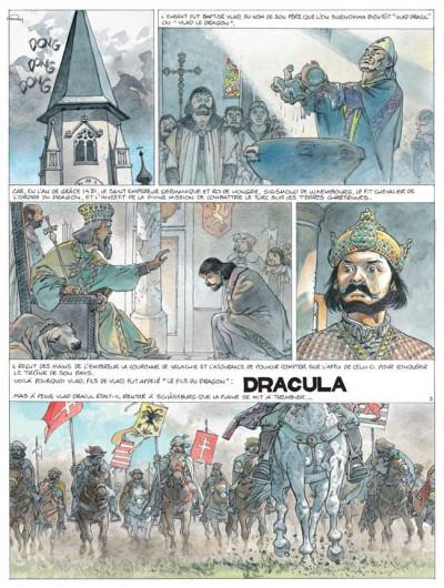 Page 1 Sur les traces de dracula tome 1 - vlad l'empaleur