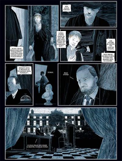 Page 3 Sur les traces de dracula tome 2 - bram stoker