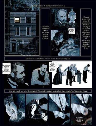 Page 4 Sur les traces de dracula tome 2 - bram stoker