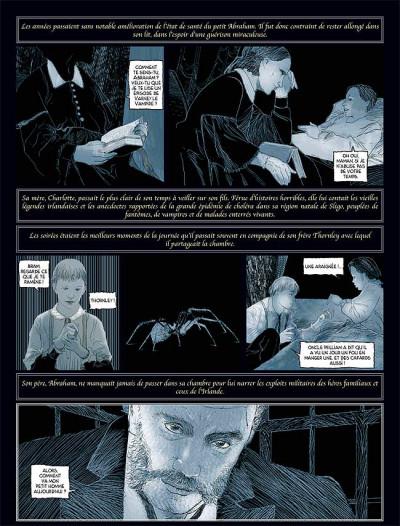 Page 5 Sur les traces de dracula tome 2 - bram stoker