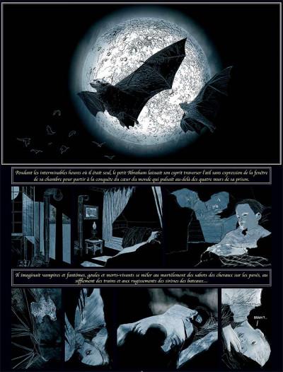 Page 6 Sur les traces de dracula tome 2 - bram stoker