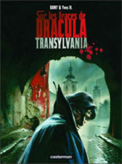 Couverture Sur les traces de dracula tome 3 - transylvania