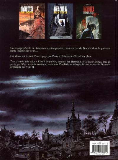 Dos Sur les traces de dracula tome 3 - transylvania