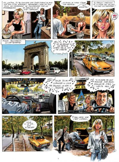 Page 1 Sur les traces de dracula tome 3 - transylvania