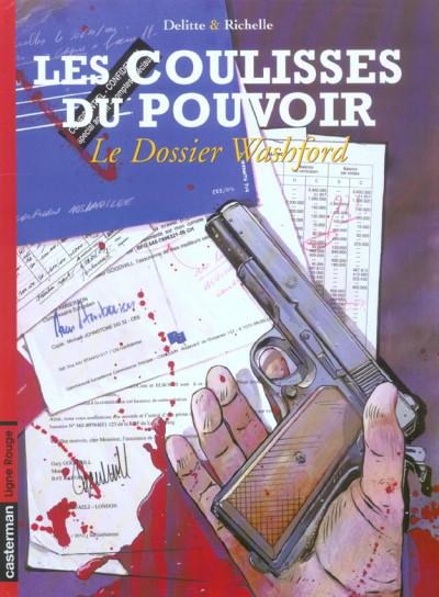 Couverture Les coulisses du pouvoir tome 6 - le dossier washford