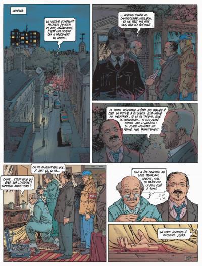 Page 1 Les coulisses du pouvoir tome 6 - le dossier washford