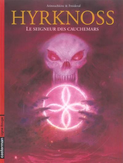 Couverture hyrknoss tome 2 - le seigneur des cauchemars
