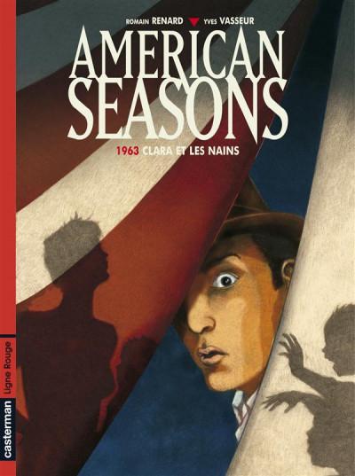 Couverture American seasons tome 1 - 1963, clara et les nains