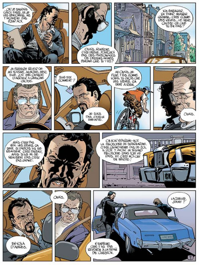 Page 8 du plomb dans la tête tome 3 - du bordel dans l'aquarium