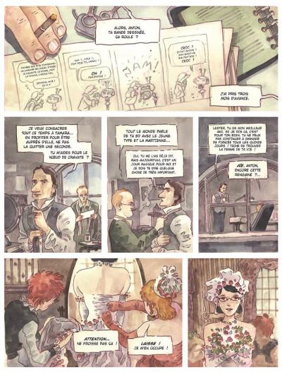 Page 2 anton blake tome 1 - détective des sentiments
