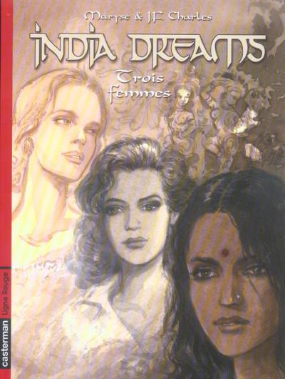 Couverture india dreams tome 5 - trois femmes
