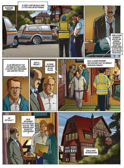 Page 1 Les coulisses du pouvoir tome 7 - disparitions
