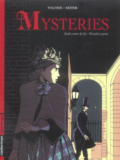 Couverture mysteries tome 1 - seule contre la loi