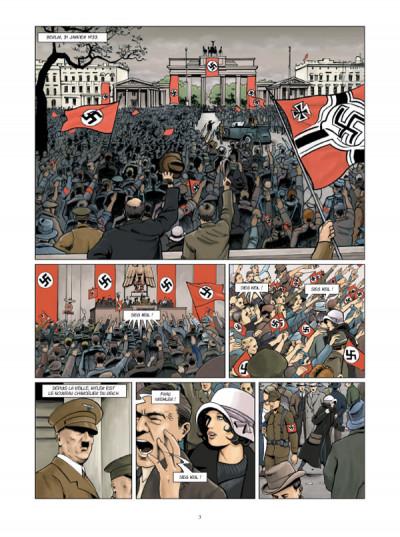 Page 1 Boro reporter photographe tome 3 - la dame de berlin tome 3