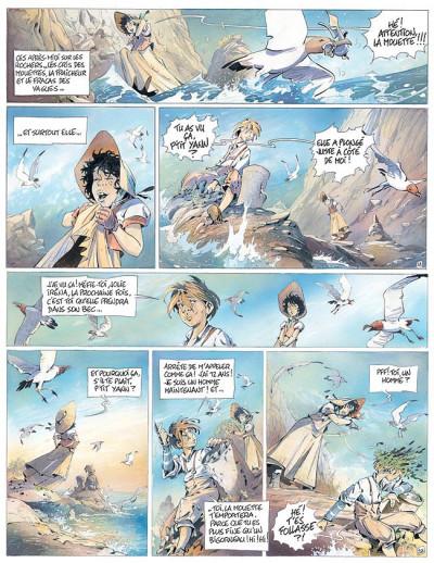 Page 1 L'auberge du bout du monde tome 1 - la fille sur la falaise