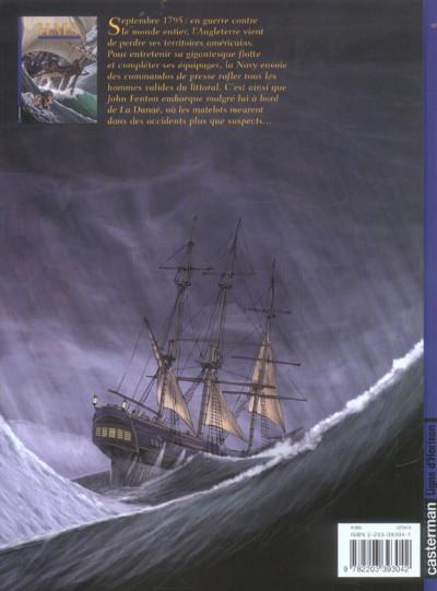 Dos H.m.s. tome 1 - his majesty's ship tome 1 - les naufragés de la miranda
