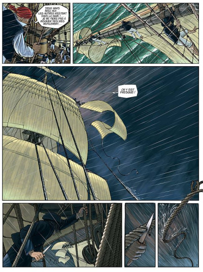 Page 1 H.m.s. tome 1 - his majesty's ship tome 1 - les naufragés de la miranda