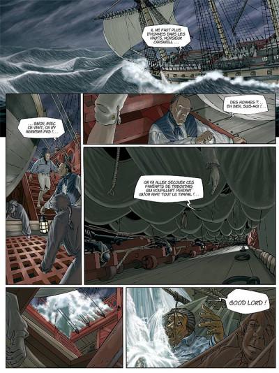 Page 4 H.m.s. tome 1 - his majesty's ship tome 1 - les naufragés de la miranda
