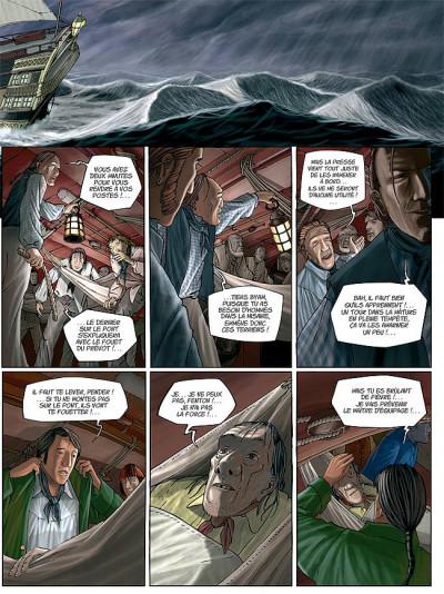 Page 5 H.m.s. tome 1 - his majesty's ship tome 1 - les naufragés de la miranda