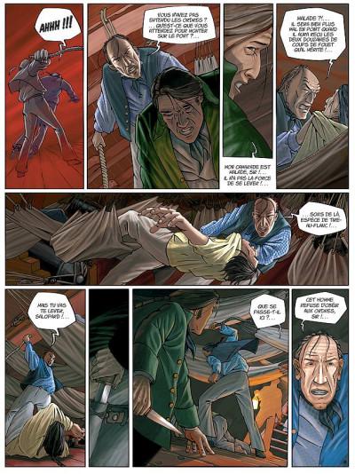 Page 6 H.m.s. tome 1 - his majesty's ship tome 1 - les naufragés de la miranda
