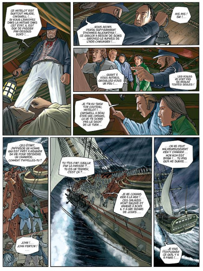Page 7 H.m.s. tome 1 - his majesty's ship tome 1 - les naufragés de la miranda