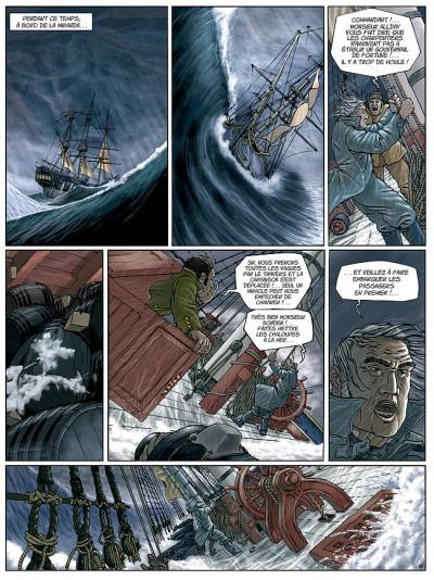Page 8 H.m.s. tome 1 - his majesty's ship tome 1 - les naufragés de la miranda