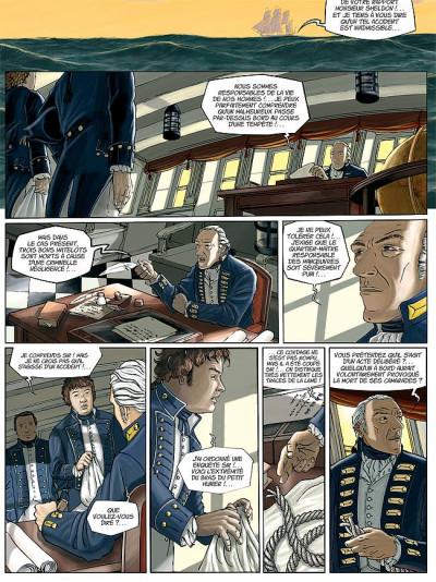 Page 9 H.m.s. tome 1 - his majesty's ship tome 1 - les naufragés de la miranda