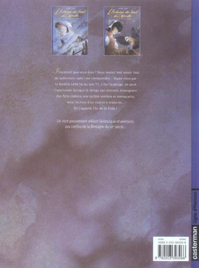 Dos L'auberge du bout du monde tome 2 - des pas sur le sable