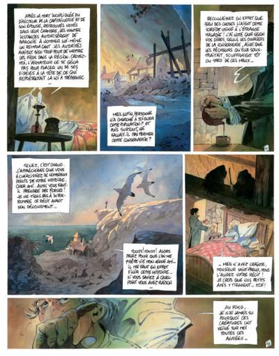 Page 1 l'auberge du bout du monde tome 3 - les remords de l'aube
