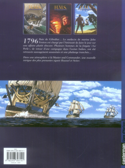 Dos h.m.s. tome 3 - his majesty's ship tome 3 - la morsure du serpent