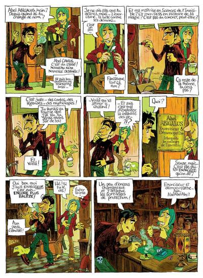Page 2 Abel Abigalus tome 1 - premiers pas dans l'au-dela