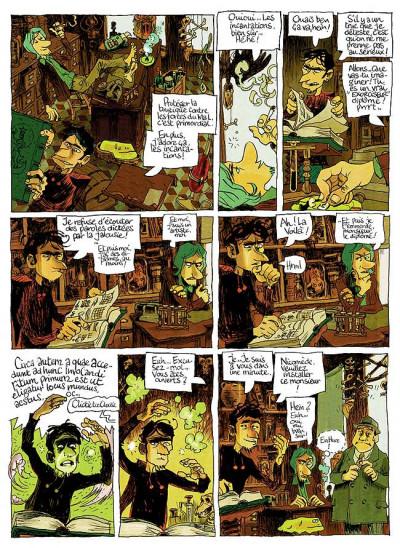 Page 3 Abel Abigalus tome 1 - premiers pas dans l'au-dela