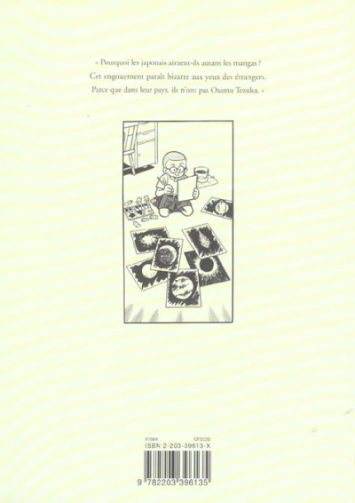 Dos Osamu tezuka, biographie tome 1 - (1928-1945)