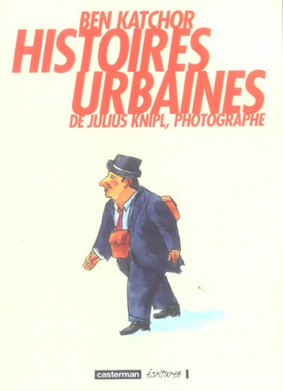 Couverture histoires urbaines de julius knipl ; photographe
