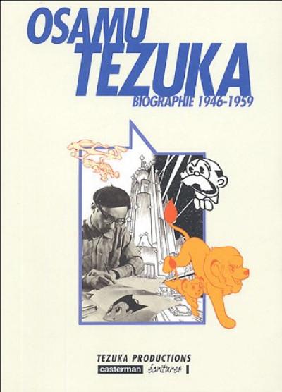 Couverture Osamu tezuka, biographie tome 2 - (1946-1959)