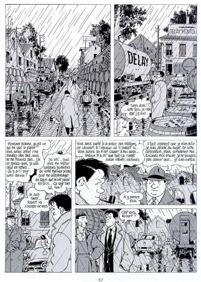 Page 1 Nestor burma  tome 1 - casse-pipe à la nation