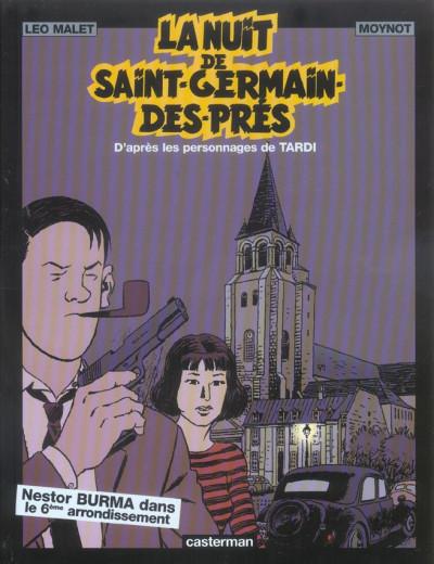 Couverture Nestor burma tome 5 - la nuit de saint-germain-des-prés