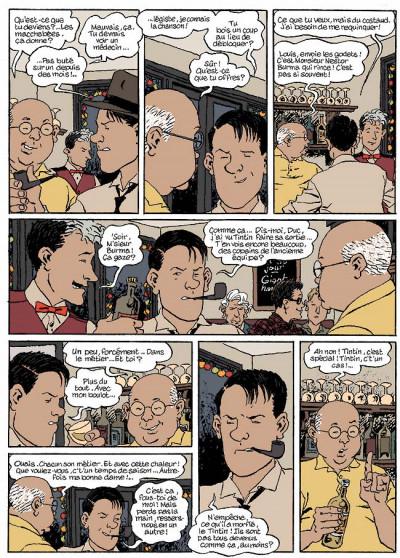 Page 1 Nestor burma tome 5 - la nuit de saint-germain-des-prés