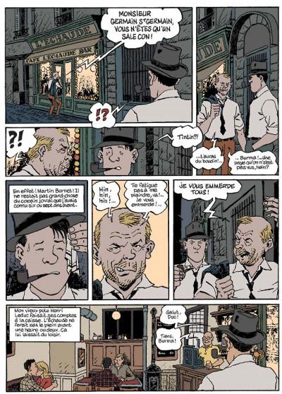 Page 2 Nestor burma tome 5 - la nuit de saint-germain-des-prés