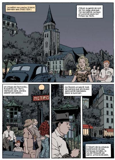 Page 3 Nestor burma tome 5 - la nuit de saint-germain-des-prés