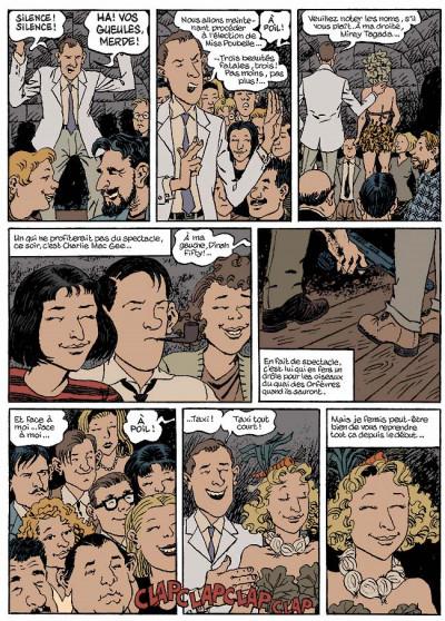 Page 4 Nestor burma tome 5 - la nuit de saint-germain-des-prés