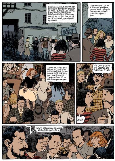 Page 5 Nestor burma tome 5 - la nuit de saint-germain-des-prés